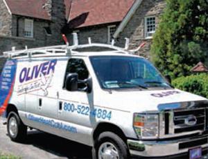 Commercial HVAC Service Vehicle