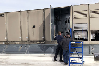 Commercial Office Building HVAC Services