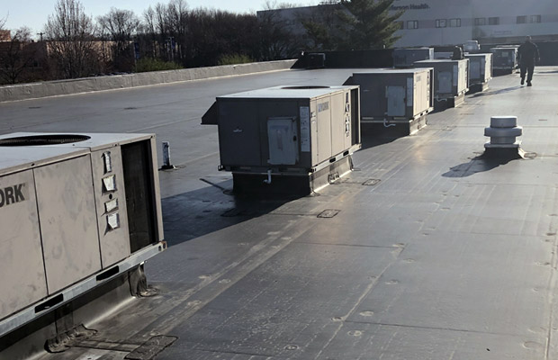 Commercial Rooftop Heating System
