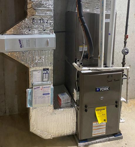 Commercial Heat Pump Split Heating System