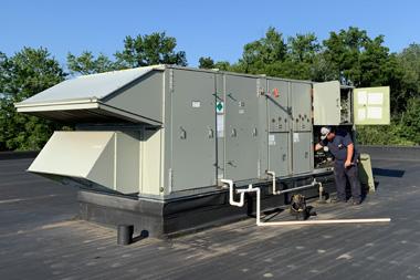 Printing Facility HVAC Services